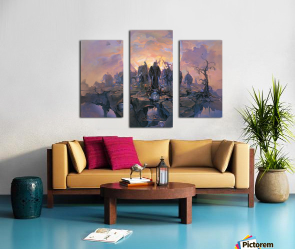 In the Company of Giants Canvas print