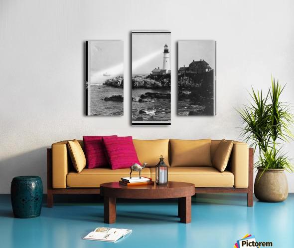 Portland-Head-Light-Portland-Maine Canvas print