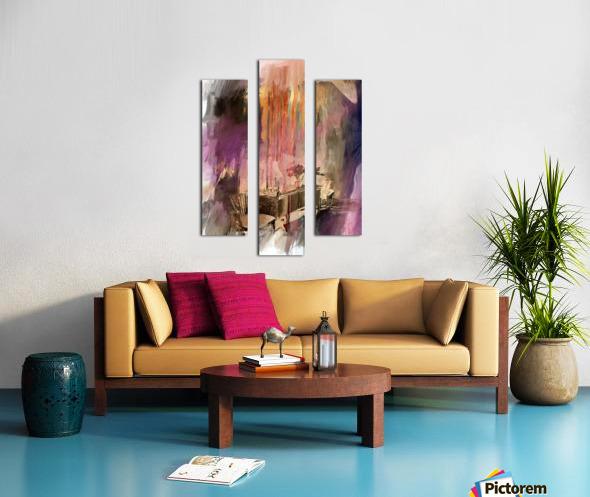 Sideboard Canvas print