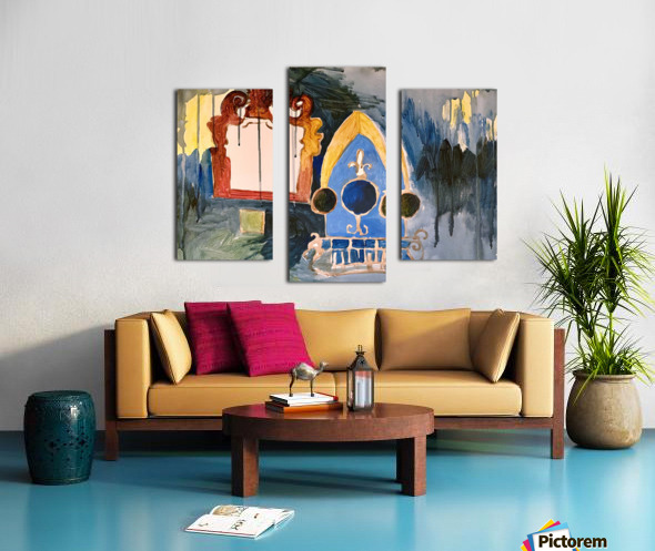 pictures in a dream Canvas print