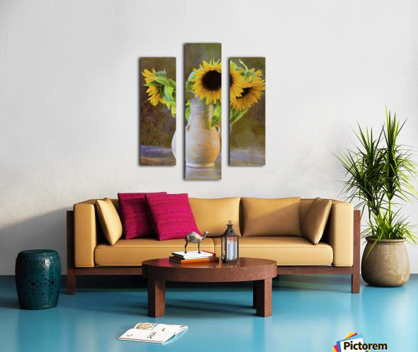 It's What Sunflowers Do - Flower Art by Jordan Blackstone Canvas print