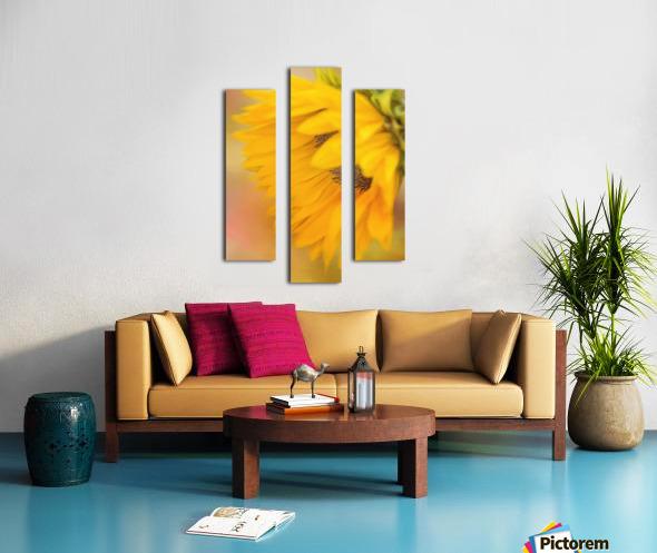 Bring Sunshine - Sunflower Art by Jordan Blackstone Canvas print