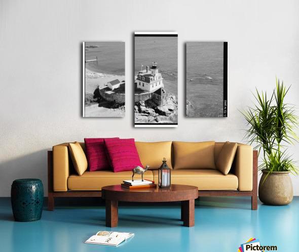 Rose-Island-Lighthouse-Rhode-Island Canvas print