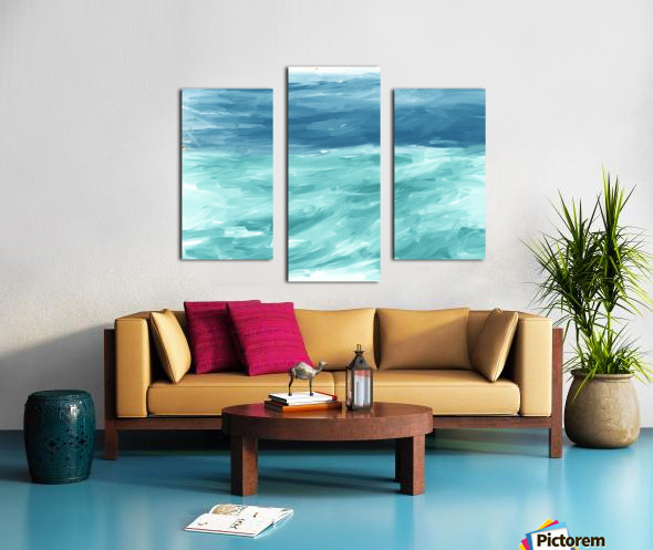 Looking for Swells Canvas print