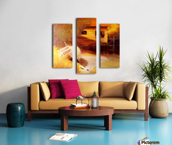 Whiskey Slough  Canvas print