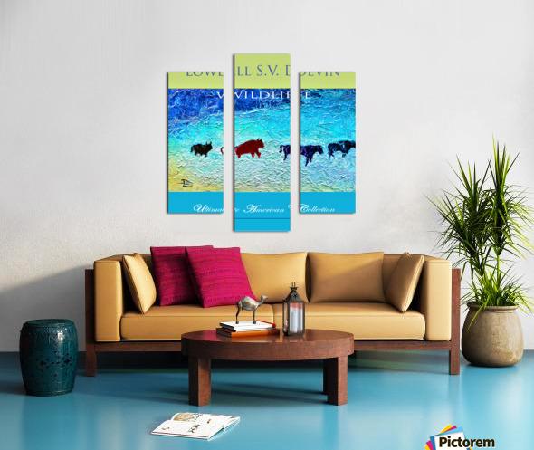Devin Wildlife UAC Show Poster Canvas print