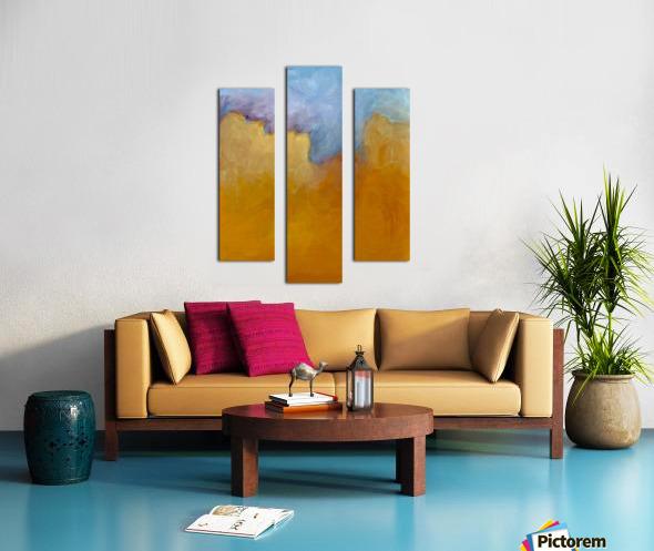 Big Orange Cloud Canvas print