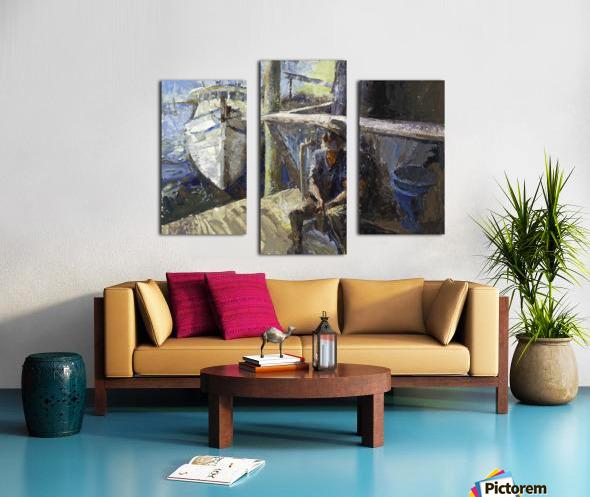 Finding Forrest Gump Canvas print