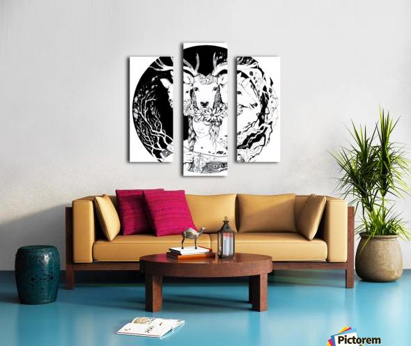 Charpatian Soul Canvas print