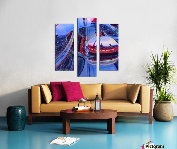 Romantic River Escape  Canvas print