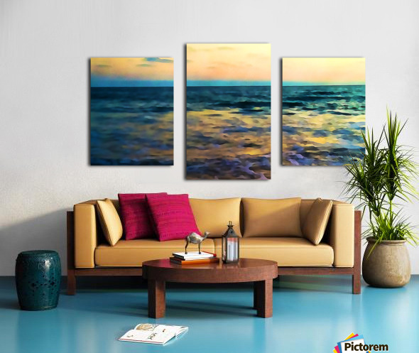 Manhattan Beach Beauty Canvas print