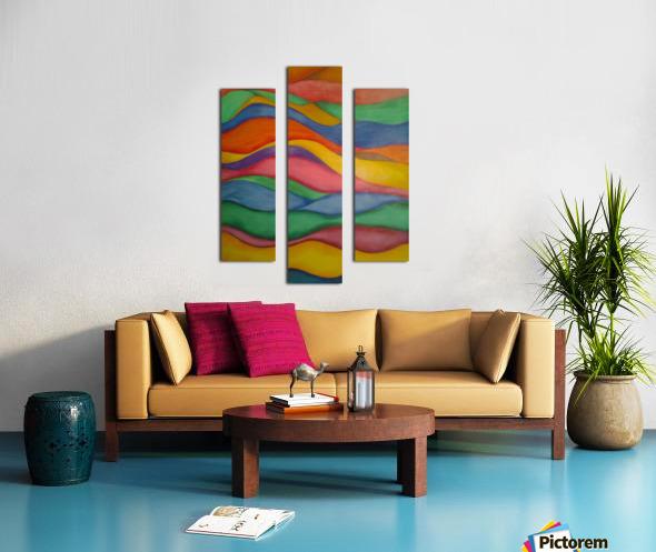 taffyribbons Impression sur toile