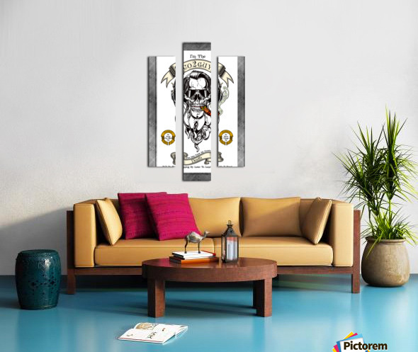 CO2 Guy Certified Real Global Climate Menace WHT Canvas print