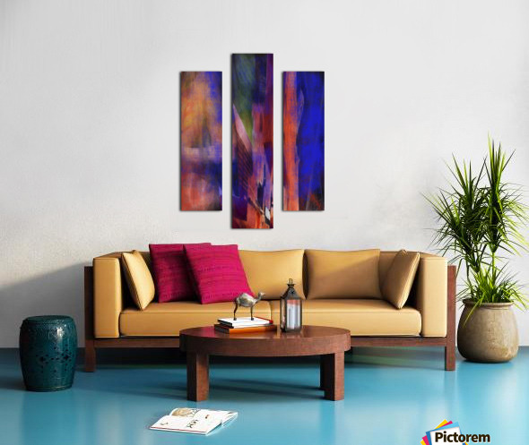 Introduction of a Model Canvas print