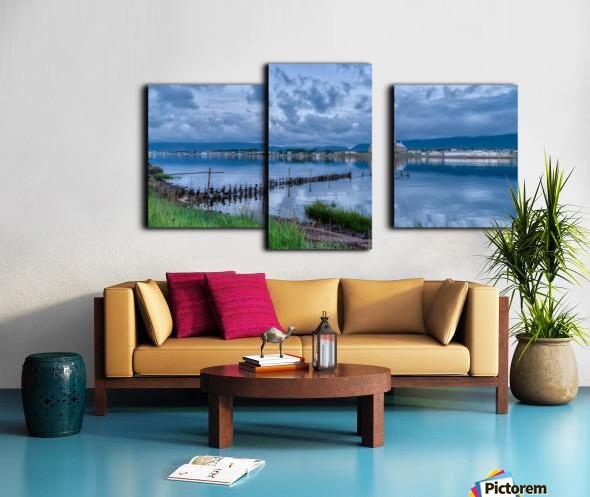 Cheticamp Harbour Canvas print
