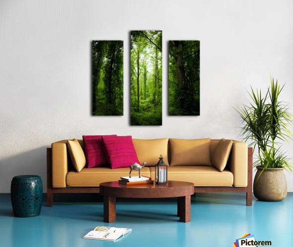 Pure oxygen  Canvas print