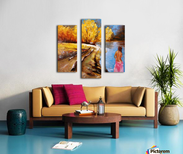 Temptation   Canvas print