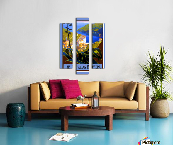 The Italian Riviera Canvas print
