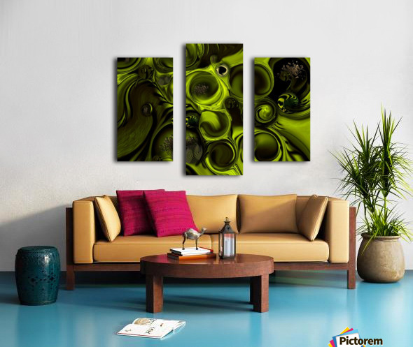 Continuation or Substance Canvas print