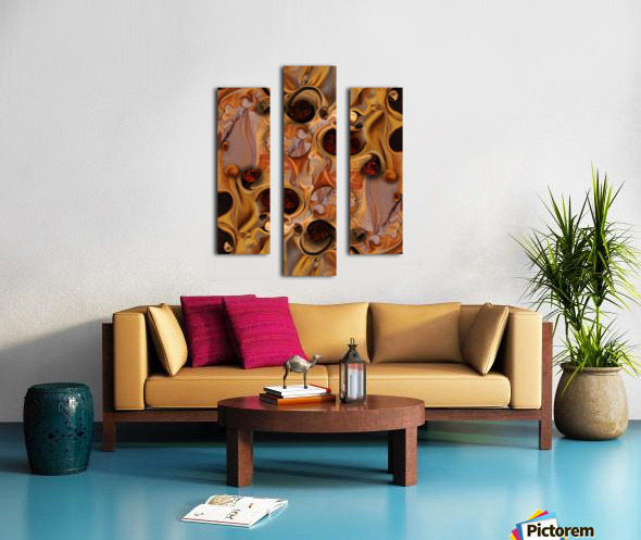 Exclusion with Concept Canvas print