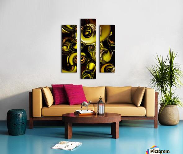 Mechanical Intensity Canvas print