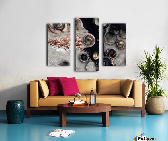 Meditative Metamorphosis Canvas print