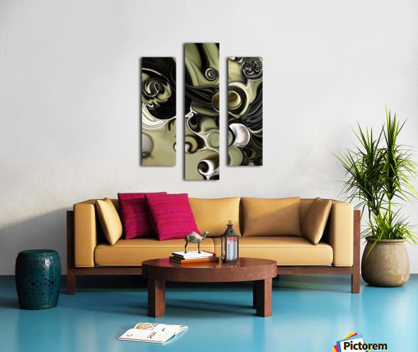 Still Life with Confused Movement Canvas print