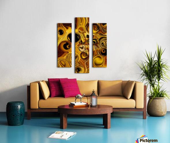The Pure Movement Canvas print