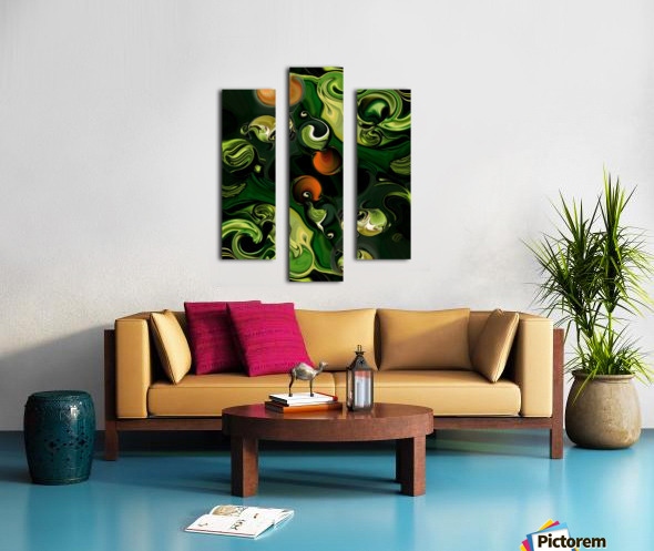 The Lonely Energy Canvas print