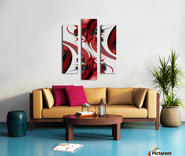 Tender Design   Composition Canvas print
