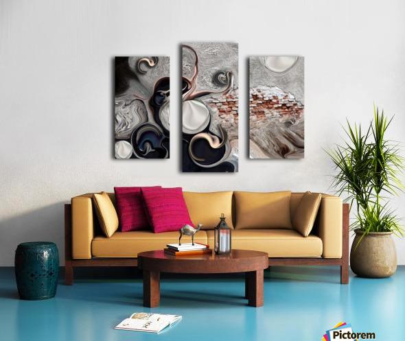 The Perceptive Compilation Canvas print