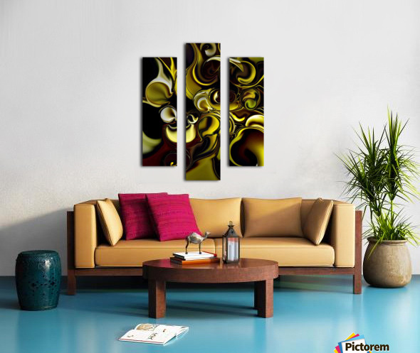 Transparent Dimension Canvas print