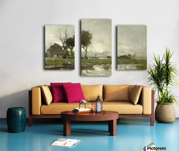 Herfstlandschap Canvas print