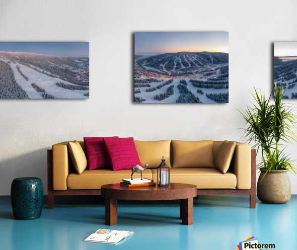 Mo South Wide Canvas print
