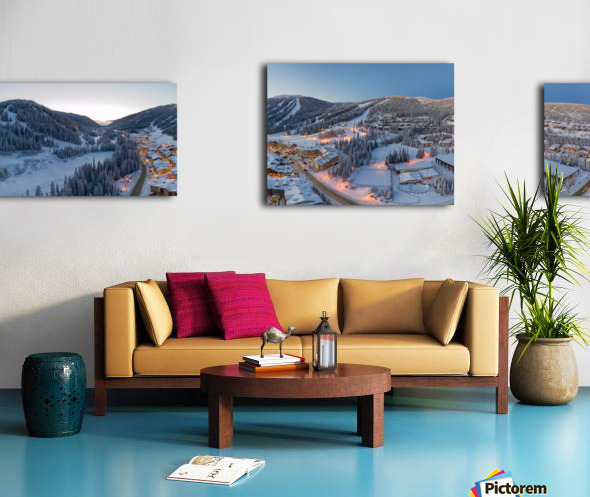 West to East Canvas print