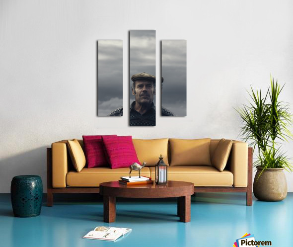 His name is Ljubisa Canvas print