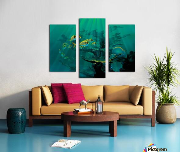Atlantic Reef Canvas print
