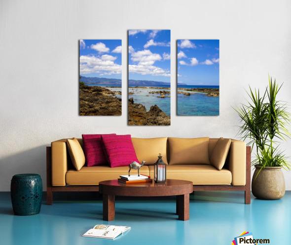 Brilliant Blue Skies Over Hanauma Bay Hawaii Canvas print