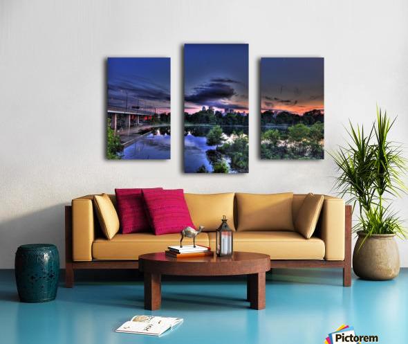 montreal island Canvas print