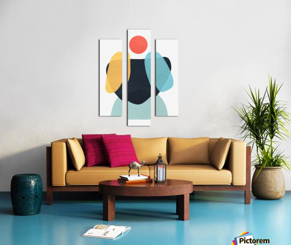 Abstraction C Canvas print