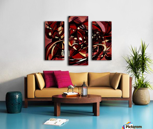 Intimate Still Life with Incidental Intensity Canvas print
