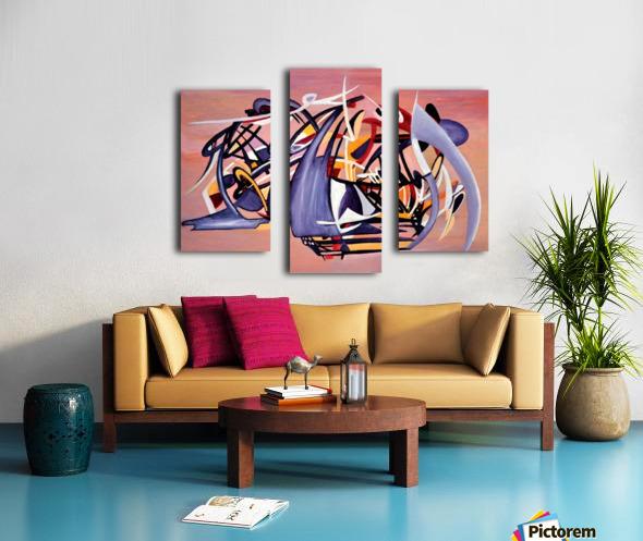 Nun Desiring the Artist Canvas print