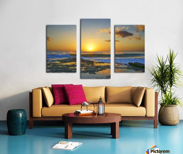 Brilliant Sunset at the Bay Hawaii Canvas print