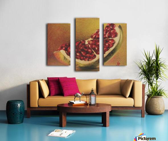 pomegranate by Vali Irina Ciobanu Canvas print