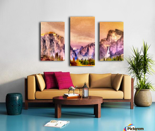Yosemite park2 Canvas print