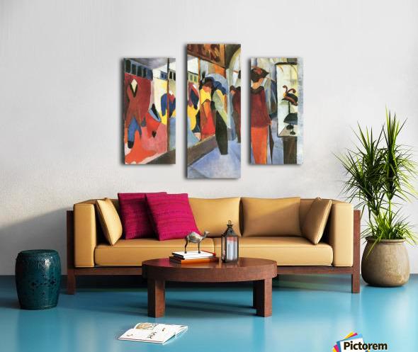 Fashion Store by August Macke Canvas print
