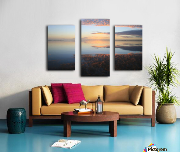 Island Sound - 4 Canvas print