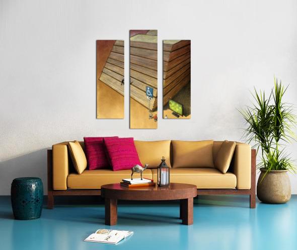 Disable Canvas print