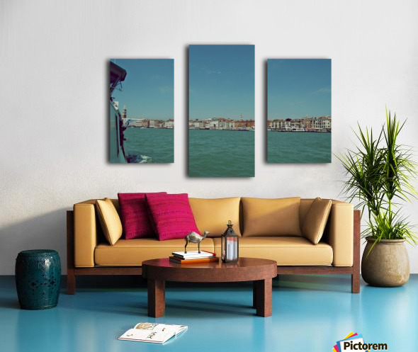 Venice on the see Canvas print