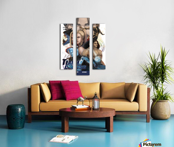 Team Genesis 01: Pleasant Introductions Canvas print
